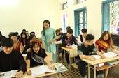 Bài 1 Thực trạng tuyển sinh của các trường dự bị đại học dân tộc