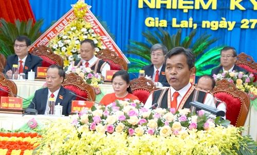 Đồng chí Hồ Văn Niên tái đắc cử Bí thư Tỉnh uỷ Gia Lai