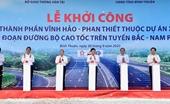 Phó Thủ tướng Trịnh Đình Dũng phát lệnh khởi công dự án cao tốc Bắc - Nam phía Đông đoạn Vĩnh Hảo - Phan Thiết
