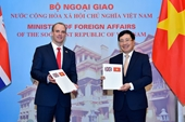 Tuyên bố chung về Quan hệ Đối tác chiến lược Việt Nam - Vương quốc Anh Định hướng phát triển trong 10 năm tới