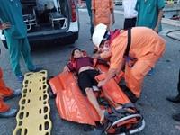Cứu kịp thời thuyền viên gặp nạn tại vùng biển quần đảo Hoàng Sa