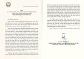 Tổng Bí thư, Chủ tịch nước gửi thư chúc mừng 75 năm ngày truyền thống ngành Khí tượng thủy văn  