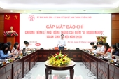 Hà Nội chuẩn bị phát động Tháng cao điểm Vì người nghèo và an sinh xã hội năm 2020