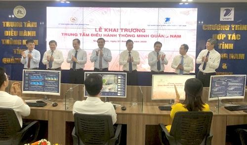 Quảng Nam Khai trương Trung tâm Điều hành thông minh