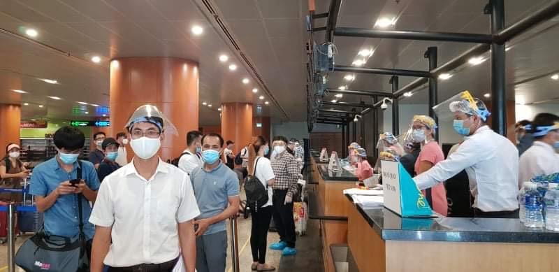 Thông tin liên quan tới hành khách từ Hàn Quốc về Việt Nam ngày 30 9