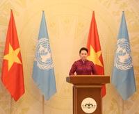 Việt Nam cam kết ưu tiên thúc đẩy sáng kiến liên quan tới phụ nữ và trẻ em