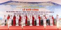 Khánh Hòa khởi công xây dựng tuyến đường tỉnh lộ 3