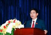 Bầu ông Trương Quốc Huy làm Chủ tịch UBND tỉnh Hà Nam