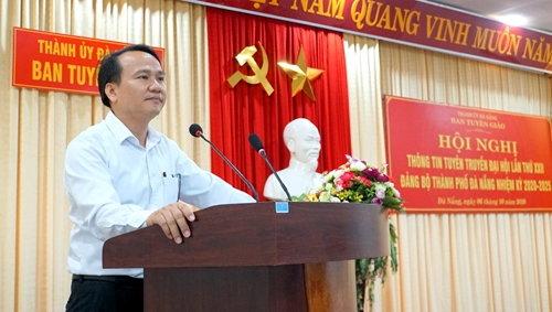 Những điểm mới ở văn kiện trình Đại hội XXII Đảng bộ TP Đà Nẵng