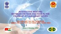 Việt Nam - Ấn Độ tăng cường hợp tác trong lĩnh vực công nghệ thông tin và phát triển đô thị thông minh