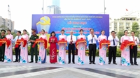 Khai mạc các triển lãm chào mừng Đại hội Đảng bộ TP Hồ Chí Minh lần thứ XI