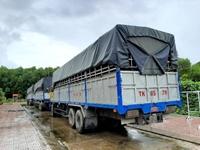 Kiên Giang Tạm giữ 3 xe tải sử dụng biển kiểm soát, giấy tờ quân sự giả