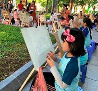 Cuộc thi vẽ tranh về Hà Nội - Thành phố Vì hòa bình