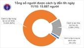 Gần 16 000 người cách ly chống dịch COVID-19