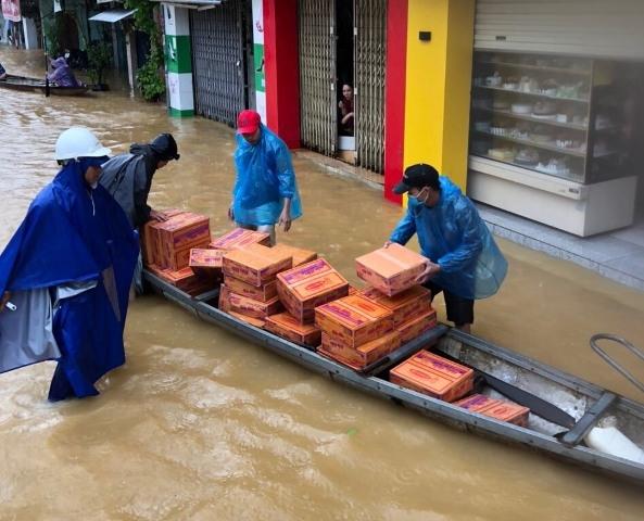 Mưa lũ gây nhiều thiệt hại tại các địa phương miền Trung