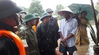 Quân khu 4 khẩn trương, kịp thời hỗ trợ nhân dân vùng lũ