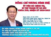 Infographic Tóm tắt quá trình công tác của Bí thư Thành ủy Hà Nội Vương Đình Huệ