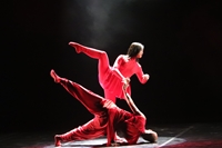 Thí sinh khu vực phía Bắc thể hiện tài năng biểu diễn Múa