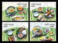 Phát hành bộ tem Ẩm thực Việt Nam