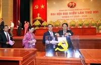 53 đồng chí trúng cử Ban Chấp hành Đảng bộ thành phố Hải Phòng khóa XVI