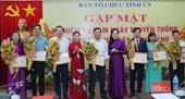 Hà Nam Nâng cao chất lượng công tác tổ chức xây dựng Đảng