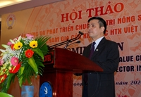 Khẳng định vai trò của Hợp tác xã Việt Nam trong việc xây dựng và phát triển chuỗi giá trị nông sản xuất khẩu  