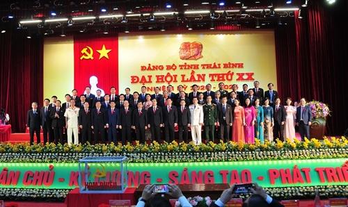 Đồng chí Ngô Đông Hải tái cử Bí thư Tỉnh ủy Thái Bình