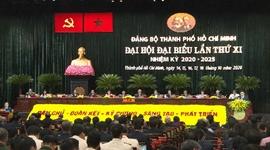 Khai mạc Đại hội Đại biểu Đảng bộ TP Hồ Chí Minh lần thứ XI