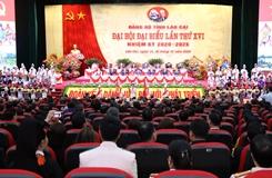 Khai mạc Đại hội đại biểu Đảng bộ tỉnh Lào Cai
