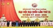 Khai mạc Đại hội đại biểu Đảng bộ tỉnh Bình Dương lần thứ XI, nhiệm kỳ 2020 – 2025