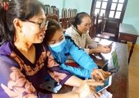 NHCSXH huyện Quảng Ninh triển khai ứng dụng Giáo dục tài chính