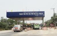 Tạm dừng thu phí trạm BOT Tân Phú từ ngày 20 10