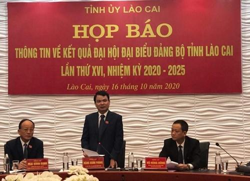 Lào Cai tiếp tục phấn đấu, vươn lên vì sự phát triển chung