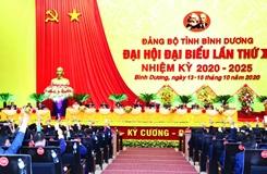 Đại hội đại biểu Đảng bộ tỉnh Bình Dương lần thứ XI