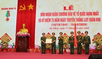 Quân khu 5 đón nhận Huân chương Bảo vệ Tổ quốc hạng Nhất