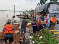 Thị xã Hương Trà tập trung chống lũ, đảm bảo an toàn cho người dân