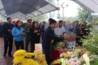 Quê hương xứ Nghệ đón các liệt sĩ về với đất mẹ