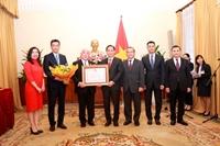 Trao tặng Huân chương Hữu nghị cho Cố vấn đặc biệt của Thủ tướng Nhật Bản