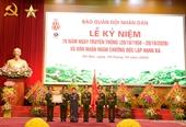 Tiếp tục phát huy truyền thống vẻ vang của Báo Quân đội nhân dân
