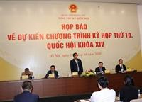 Quốc hội sẽ thảo luận về các dự thảo Văn kiện trình Đại hội XIII của Đảng