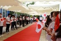 Tân Thủ tướng Nhật Bản gặp gỡ sinh viên Đại học Việt – Nhật, Hà Nội