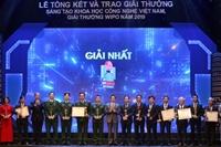 Trao giải thưởng khoa học công nghệ Việt Nam