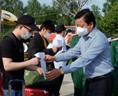 Long An hoàn thành cách ly 235 công dân trở về từ Philippines