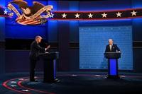 Bầu cử Mỹ 2020 Hai ứng cử viên kết thúc vòng tranh luận cuối cùng