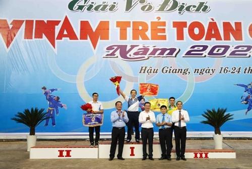 TP Hồ Chí Minh bảo vệ thành công ngôi đầu Giải vô địch trẻ Vovinam toàn quốc 2020
