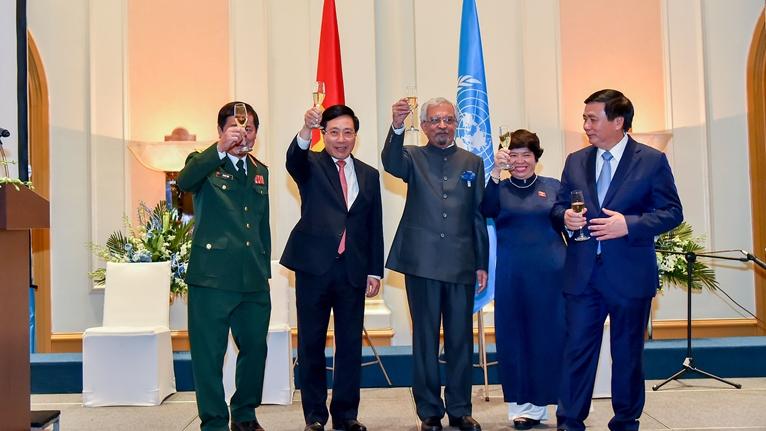 Chiêu đãi kỉ niệm 75 năm thành lập Liên hợp quốc
