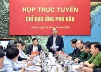 Thủ tướng Nguyễn Xuân Phúc Cần chủ động ứng phó với bão số 9