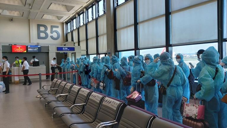 Đưa 230 công dân Việt Nam tại Đài Loan Trung Quốc về nước