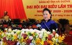Chủ tịch Quốc hội dự bế mạc Đại hội Đảng bộ tỉnh Hải Dương