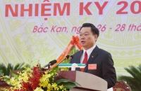 Đồng chí Hoàng Duy Chinh được bầu làm Bí thư Tỉnh ủy Bắc Kạn